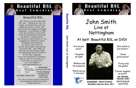 Beautiful BSL DVD